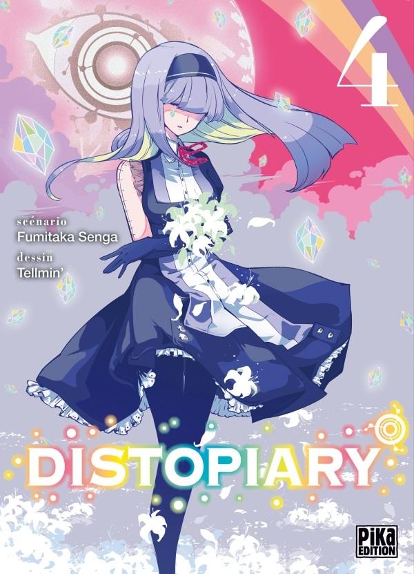 Distopiary T4, manga chez Pika de Senga