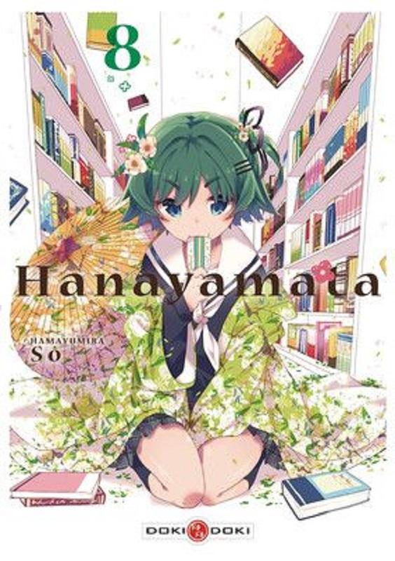 Hanayamata T8, manga chez Bamboo de Hamayumiba