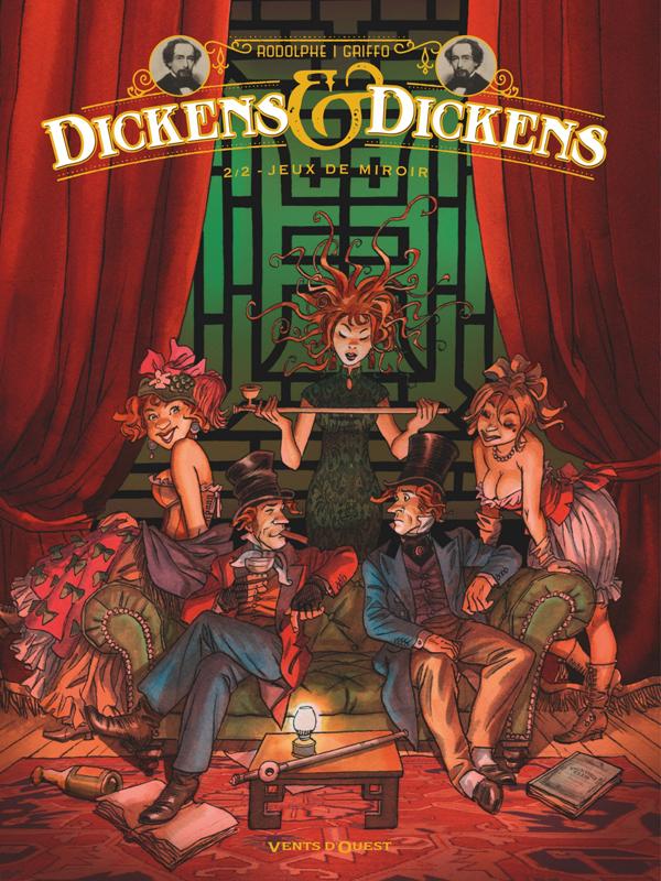 Dickens & Dickens T2 : Jeux de miroir (0), bd chez Vents d'Ouest de Rodolphe, Griffo
