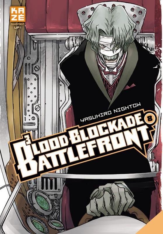 Blood blockade battlefront T8, manga chez Kazé manga de Nightow