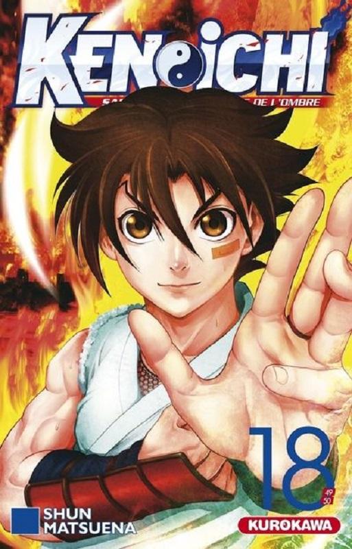 Ken-Ichi – Les disciples de l'ombre 2, T18, manga chez Kurokawa de Matsuena