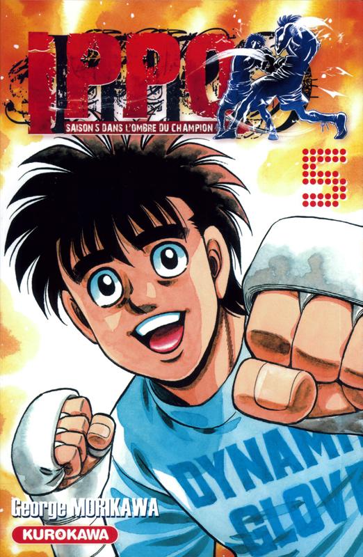 Ippo – Saison 5 - Dans l'ombre du champion, T5, manga chez Kurokawa de Morikawa