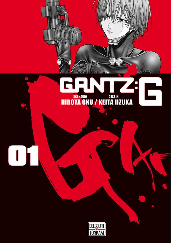 Gantz:G T1, manga chez Delcourt Tonkam de Oku, Iizuka