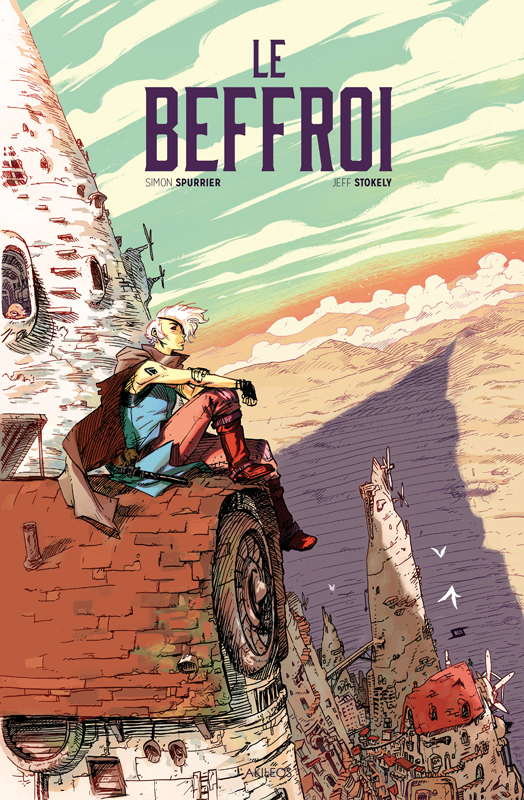 Le Beffroi, comics chez Akileos de Spurrier, Stokely, May