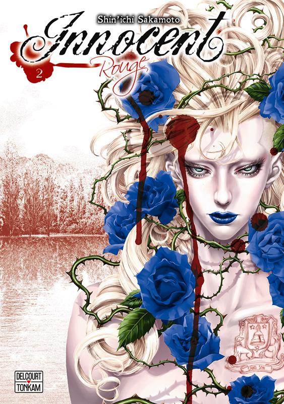 Innocent Rouge T2, manga chez Delcourt Tonkam de Sakamoto