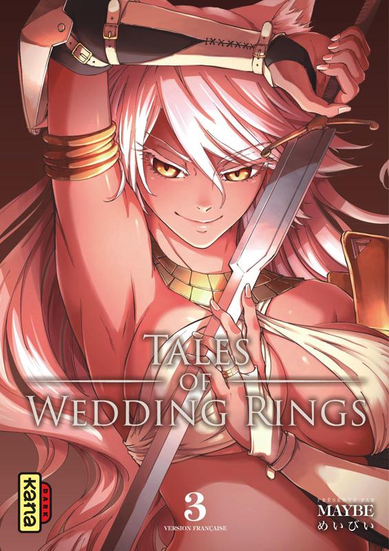 Tales of wedding rings T3, manga chez Kana de Maybe
