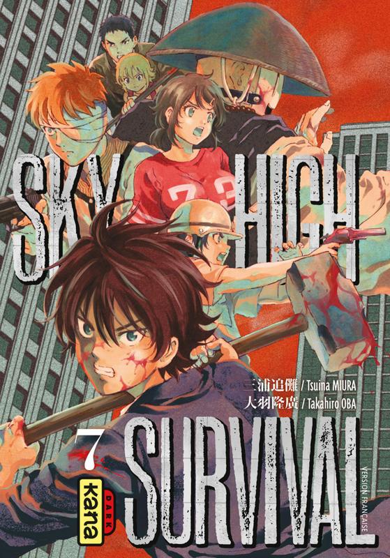 Sky-high survival T7, manga chez Kana de Miura, Oba