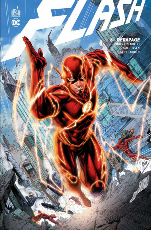 Flash T6 : Dérapage (0), comics chez Urban Comics de Venditti, Booth