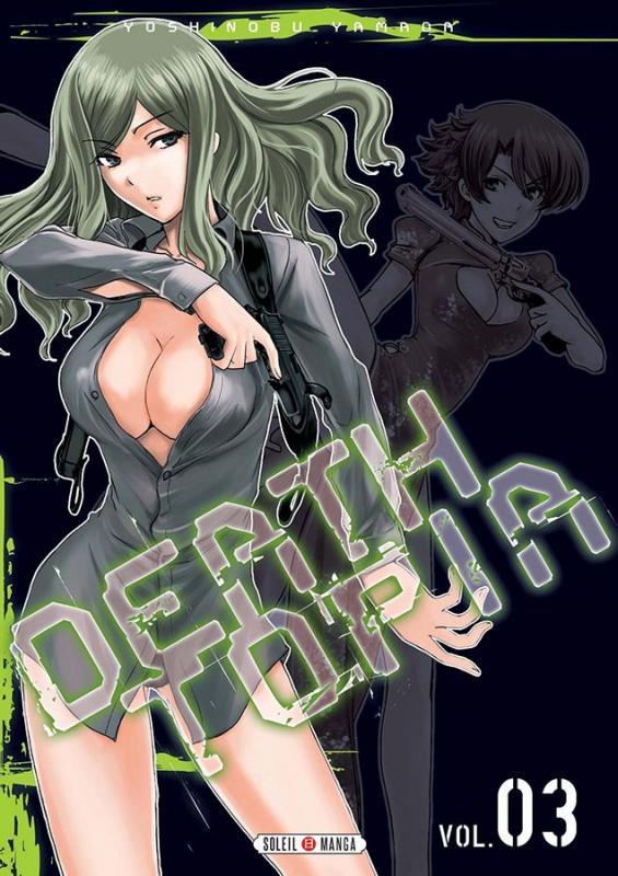Deathtopia T3, manga chez Soleil de Yamada