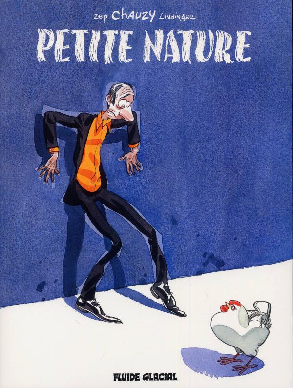 Petite nature, bd chez Fluide Glacial de Zep, Lindingre, Chauzy