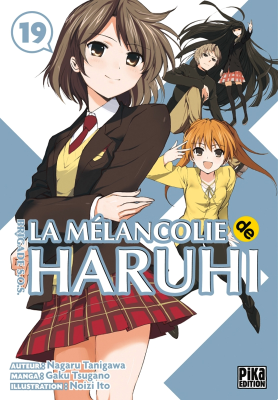 La mélancolie de Haruhi - Brigade SOS T19, manga chez Pika de Tanigawa, Tsugano