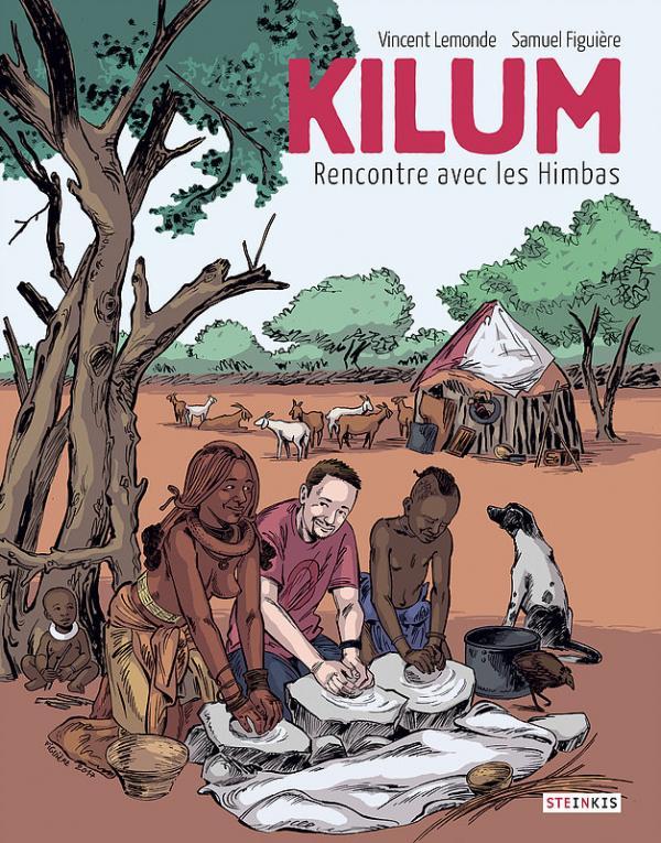 Kilum : Rencontre avec les Himbas (0), bd chez Steinkis de Lemonde, Figuière