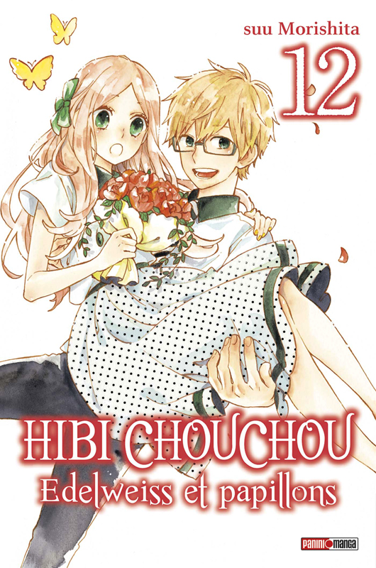 Hibi chouchou - Edelweiss & Papillons  T12, manga chez Panini Comics de Morishita