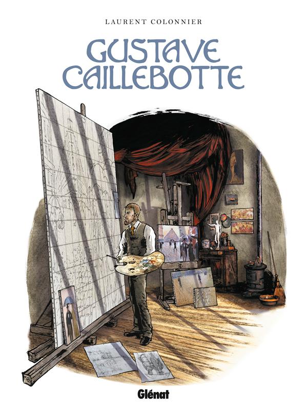 Gustave Caillebotte, bd chez Glénat de Colonnier