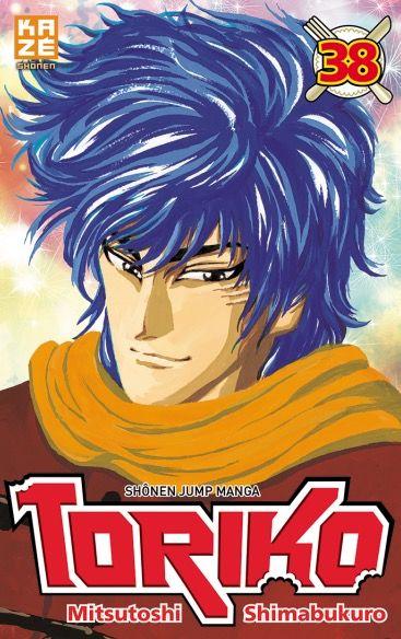 Toriko T38, manga chez Kazé manga de Shimabukuro