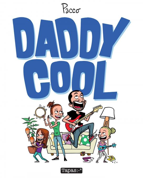Daddy Cool, bd chez Delcourt de Pacco