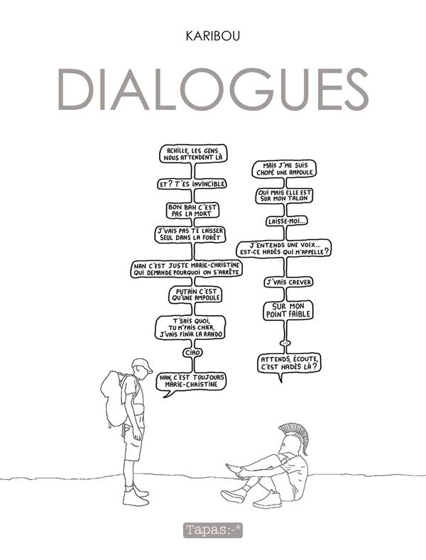 Dialogues, bd chez Delcourt de Karibou