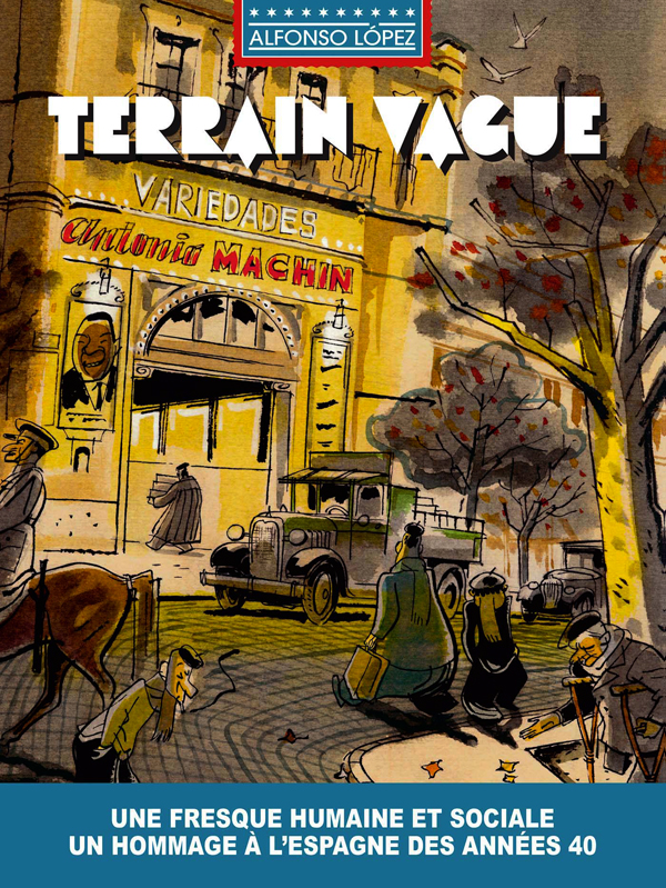 Terrain vague : <span> Collectif</span> (0), bd chez Hachette de Lopez
