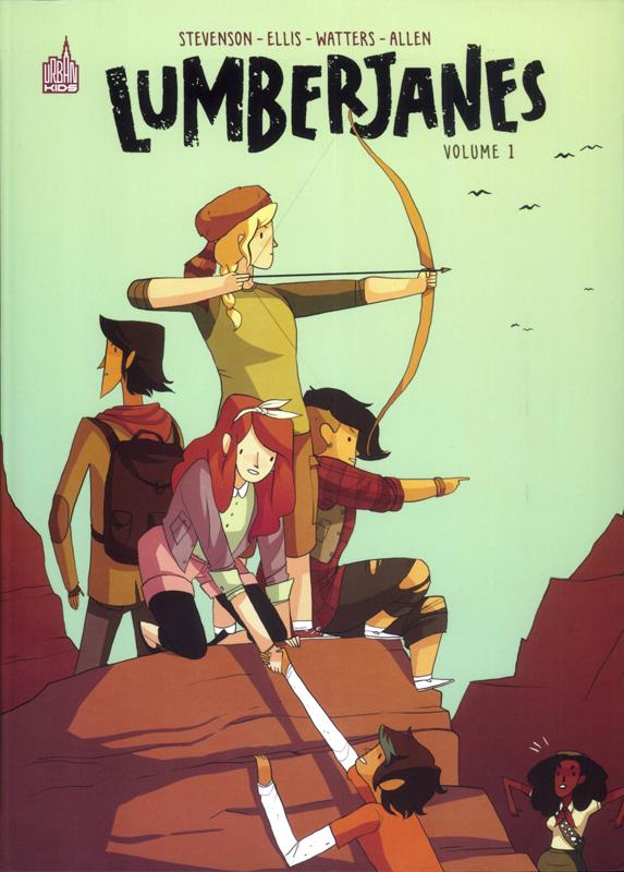 Lumberjanes T1, comics chez Urban Comics de Stevenson, Ellis, Allen, Pietsch, Laiho