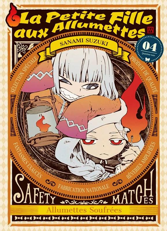 La petite fille aux allumettes  T4, manga chez Komikku éditions de Suzuki