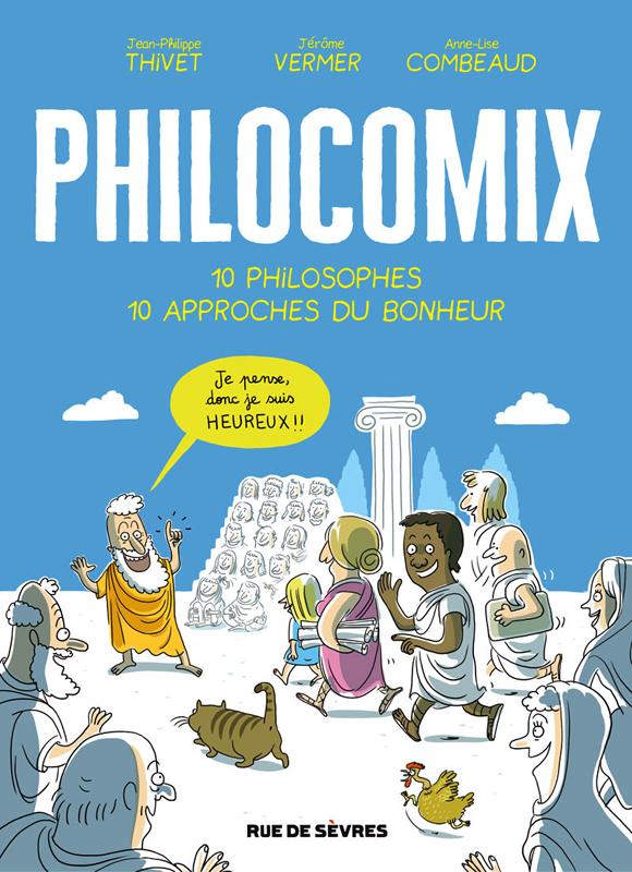Philocomix T1, bd chez Rue de Sèvres de Thivet, Combeaud, Vermer