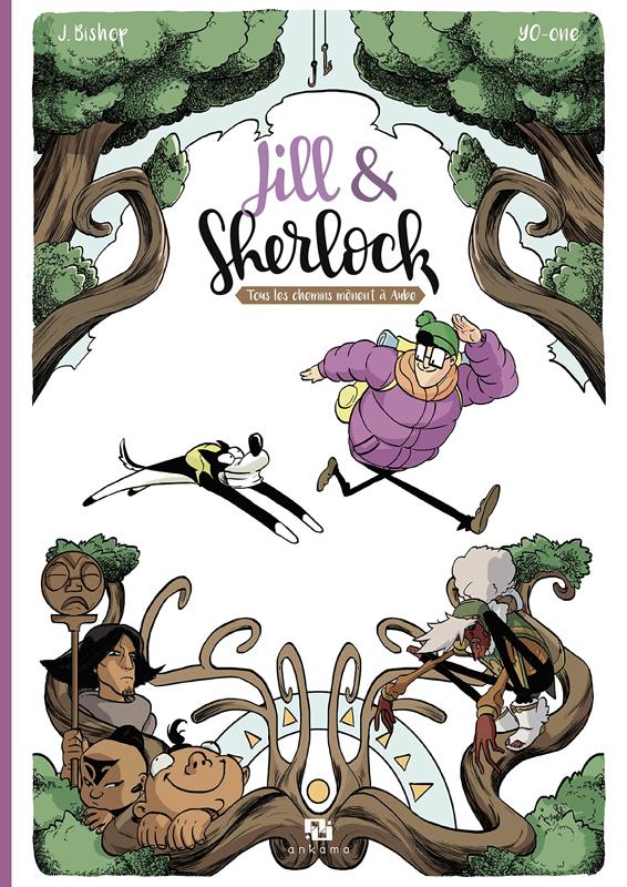 Jill & Sherlock : Tous les chemins mènent à Aube (0), bd chez Ankama de Bishop, Yo-One