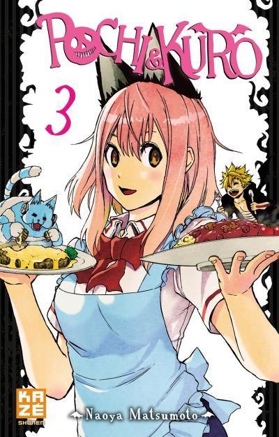 Pochi & Kuro T3, manga chez Kazé manga de Matsumoto