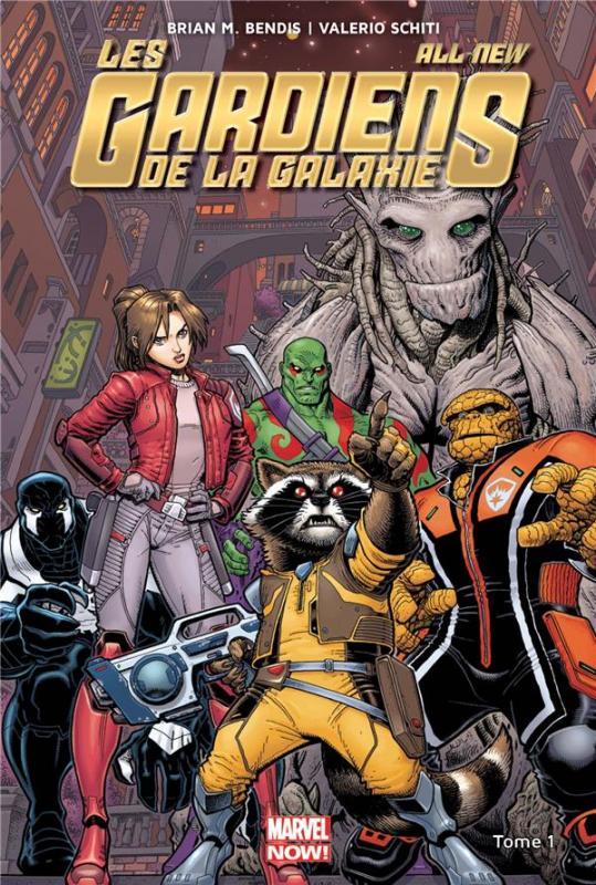 All-New Les Gardiens de la Galaxie T1 : Empereur Quill (0), comics chez Panini Comics de Bendis, Schiti, Isanove, Adams