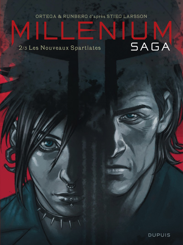 Millenium saga T2 : Les nouveaux spartiates (0), bd chez Dupuis de Runberg, Ortega, Crespo