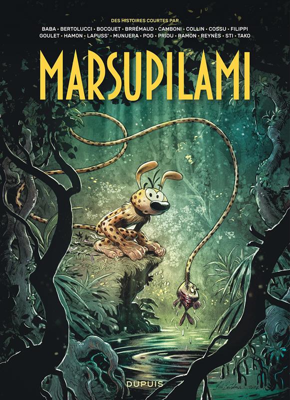 Le Marsupilami par... T1, bd chez Dupuis de Collectif, Bertolucci