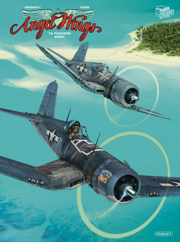 Angel Wings T4 : Paradise birds (0), bd chez Paquet de Yann, Hugault