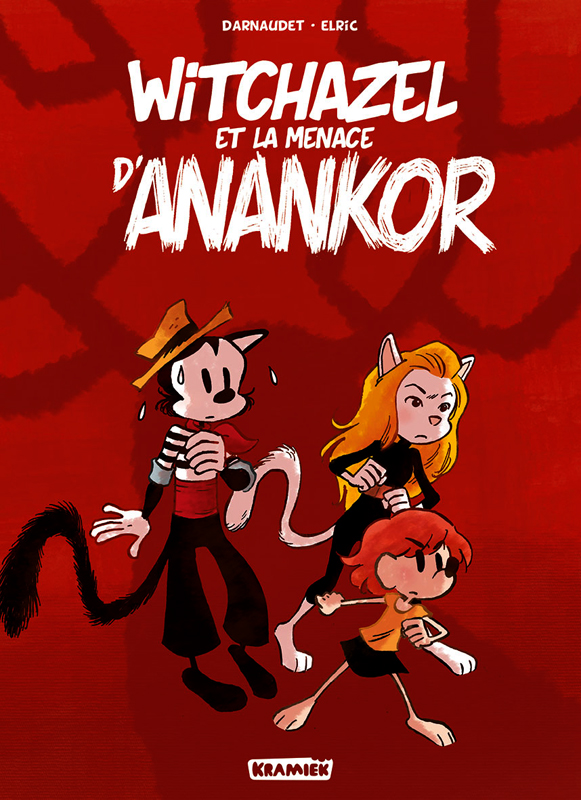 Witchazel T3 : La menace d'Anankor (0), bd chez Kramiek de Darnaudet, Elric, Durandelle
