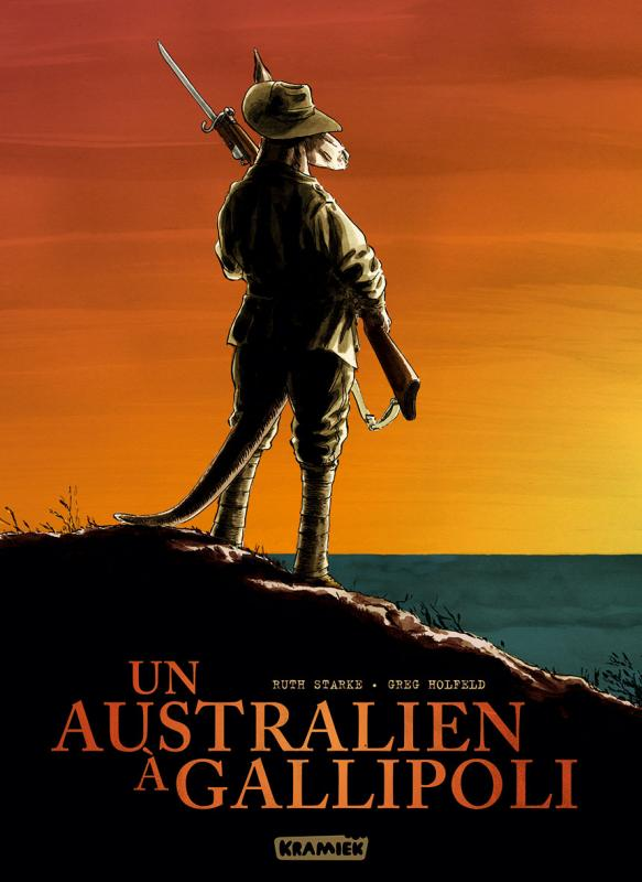 Un Australien à Gallipoli, bd chez Kramiek de Starke, Holfeld