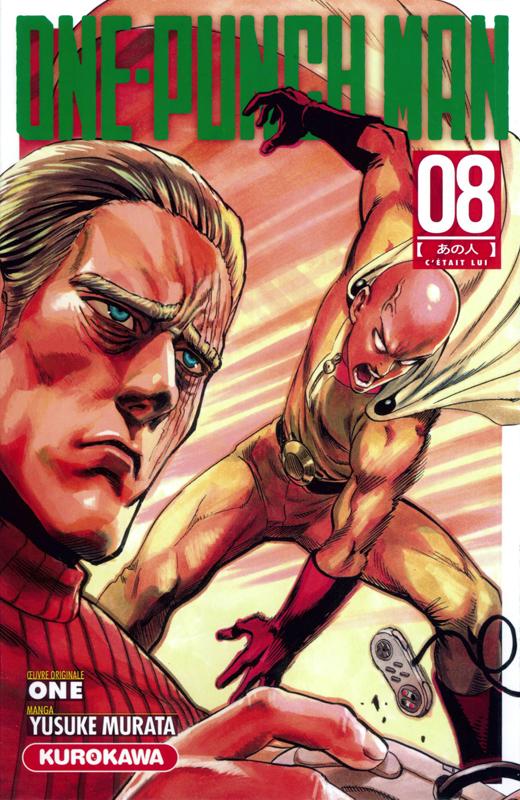 One-Punch Man T8 : C'était lui (0), manga chez Kurokawa de One, Murata