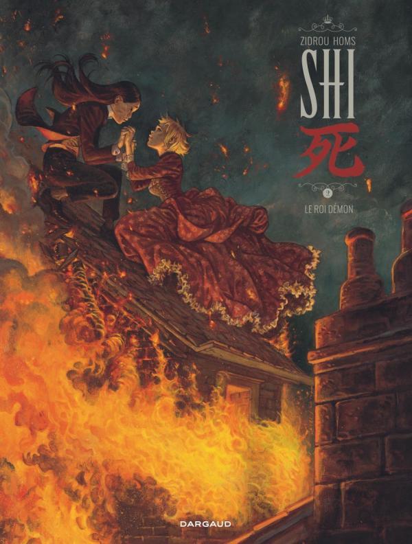 Shi T2 : Le roi démon (0), bd chez Dargaud de Zidrou, Homs