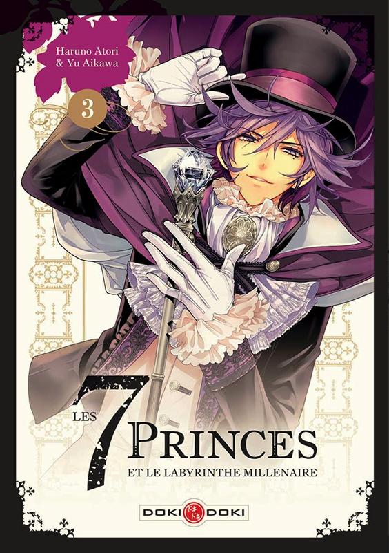 Les 7 princes et le labyrinthe millénaire  T3, manga chez Bamboo de Aikawa, Atori