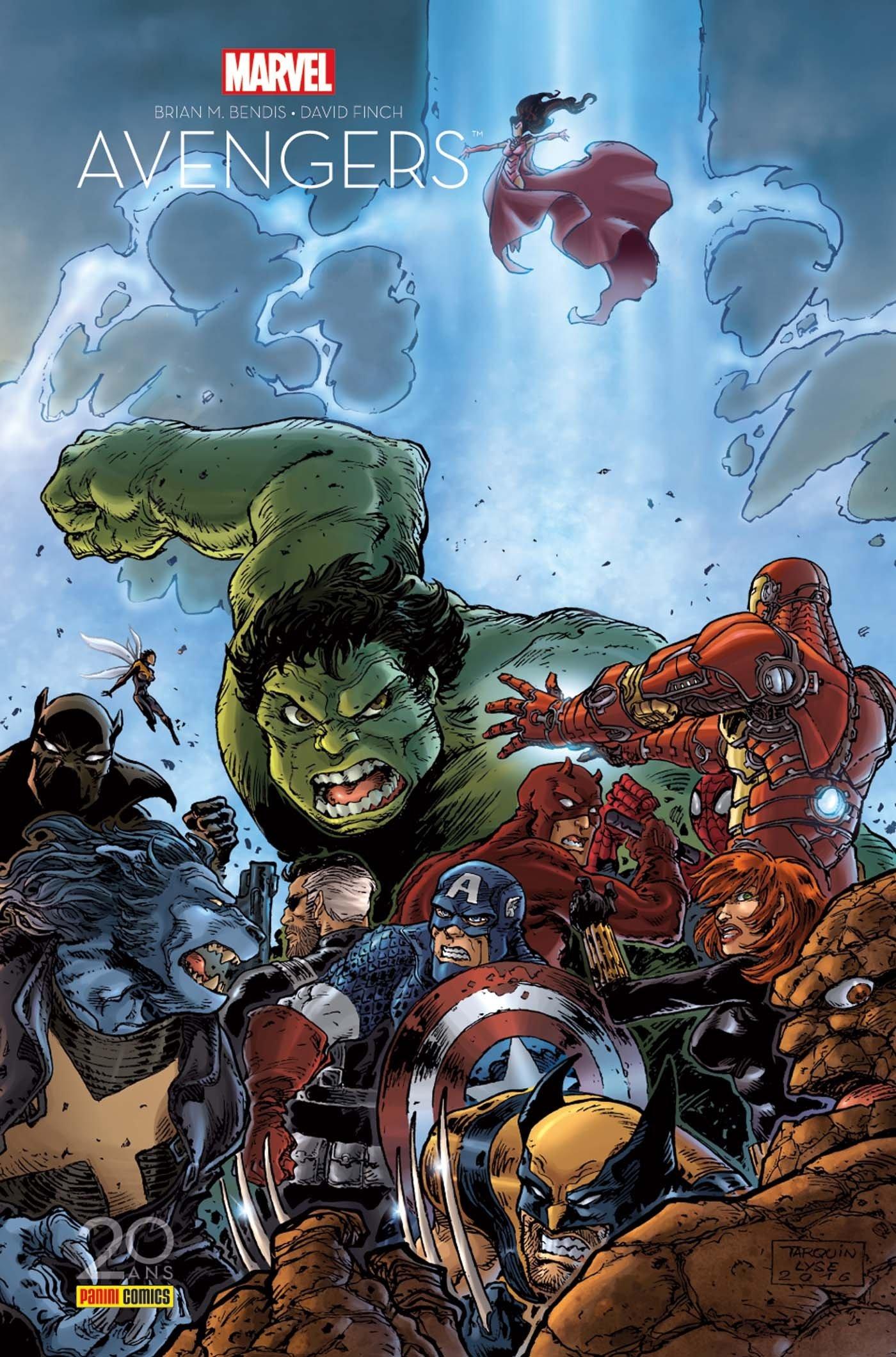 The Avengers : La séparation (0), comics chez Panini Comics de Bendis, Finch, Ponsor, Tarquin