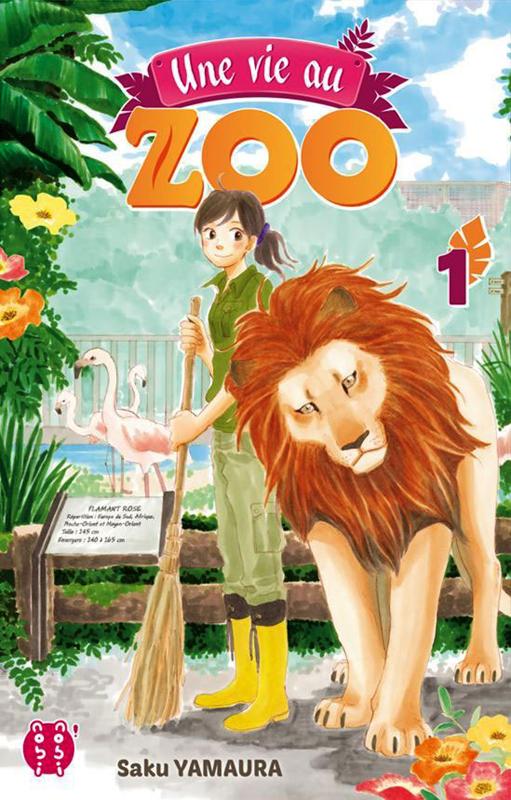 Une vie au zoo T1, manga chez Nobi Nobi! de Yamaura