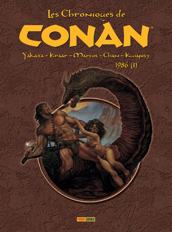 Les Chroniques de Conan T21 : 1986 - Tome 1 (0), comics chez Panini Comics de Kwapisz, Kraar, Yakata
