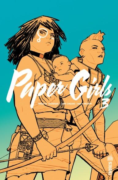Paper Girls T3, comics chez Urban Comics de Vaughan, Chiang, Cunniffe, Wilson
