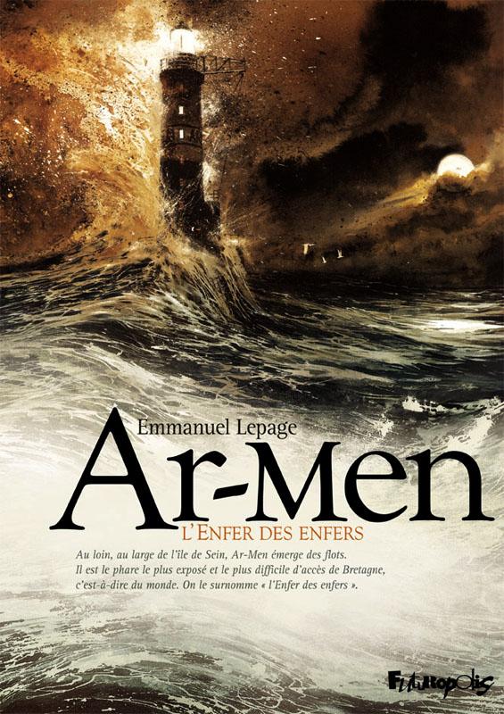 Ar-Men, bd chez Futuropolis de Lepage