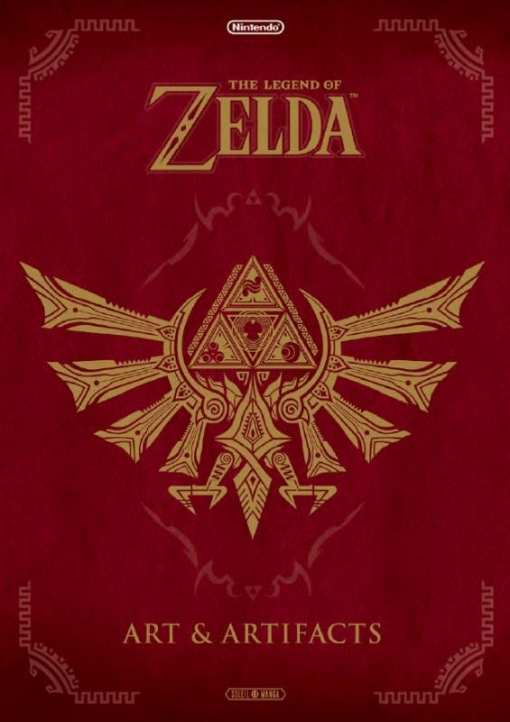 The legend of Zelda - Art & artifacts, manga chez Soleil de Nintendo