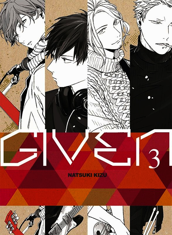 Given T3, manga chez Taïfu comics de Kizu