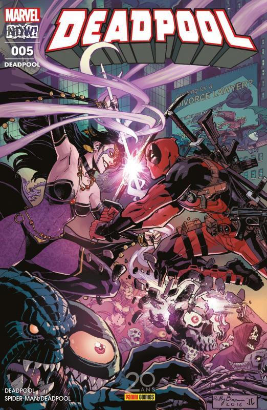 Deadpool (revue) T5 : Jusqu'à ce que la mort... (1/2) (0), comics chez Panini Comics de Corin, Duggan, Hepburn, Koblish, Espin, Izaakse, Kniivila, Tartaglia, Filardi, Redmond, Gandini, Brown
