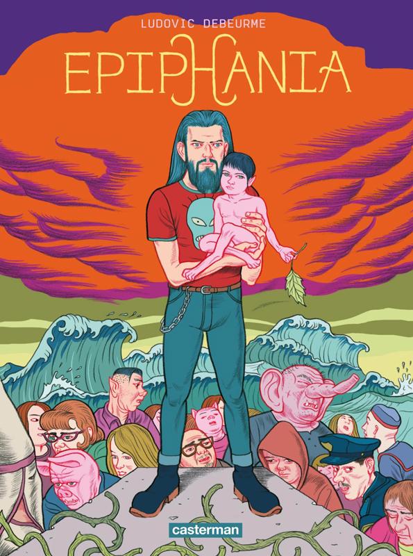Epiphania T1, bd chez Casterman de Debeurme, Michaelis