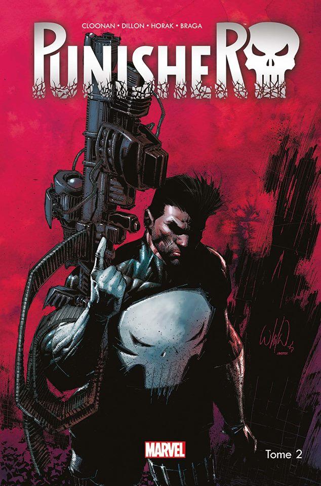 Punisher (2016) T2 : Opération Condor : fin de partie (0), comics chez Panini Comics de Becky Cloonan, Zanfardino, Horak, Dillon, Braga, Martin jr, Guru efx, Portacio