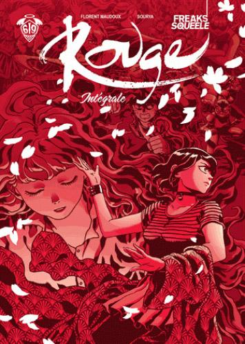 Rouge, bd chez Ankama de Maudoux, Sihachakr