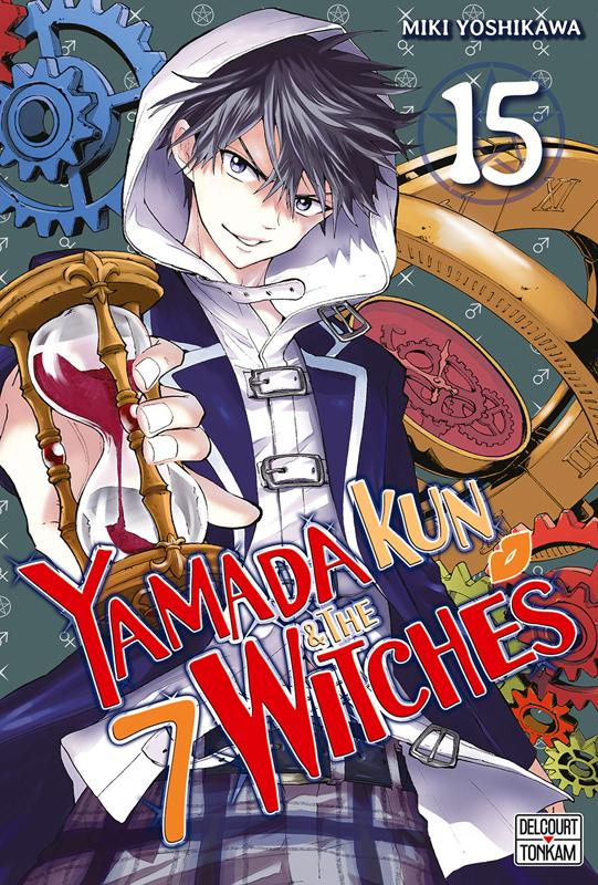 Yamada kun & the 7 witches T15, manga chez Delcourt Tonkam de Yoshikawa