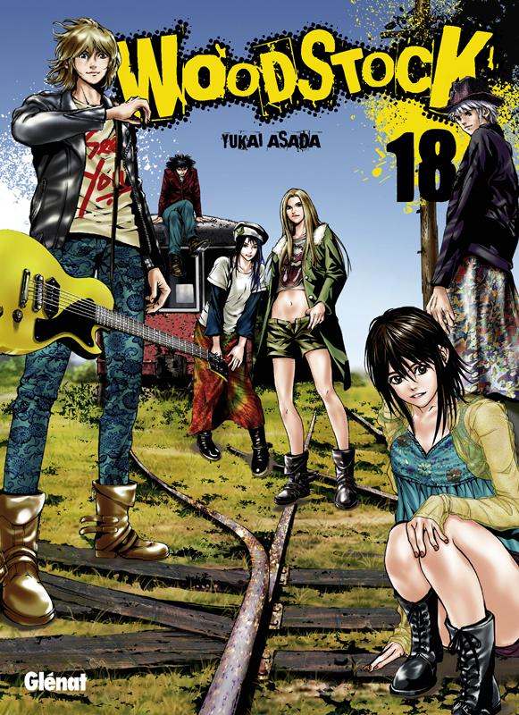 Woodstock T18, manga chez Glénat de Asada
