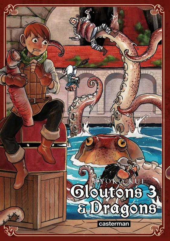 Gloutons & dragons T3, manga chez Casterman de Kui